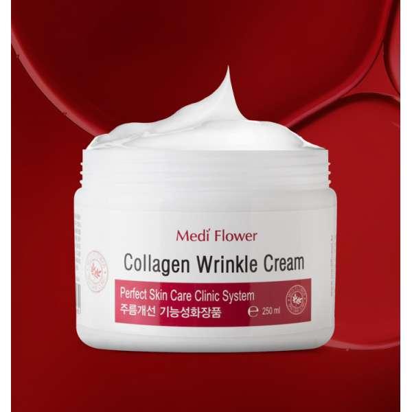 Medi Flower Collagen Wrinkle Cream Крем для лица против морщин