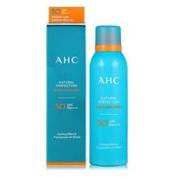 AHC Natural Perfection Aqua Sun Spray SPF50 PA++++ Солнцезащитный увлажняющий спрей