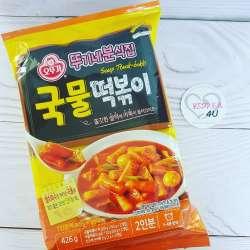 Токкпоки - рисовые клецки в остром соусе