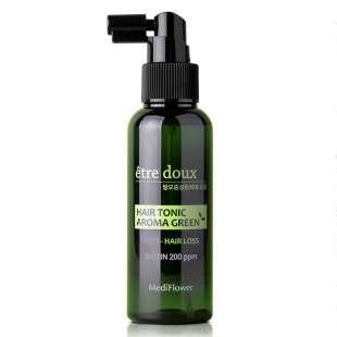 Medi Flower Etre doux Aroma Green Hair Tonic. Тоник от выпадения
