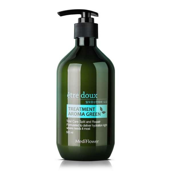 Medi Flower Etre doux Aroma Green Hair Treatment. Маска от выпадения