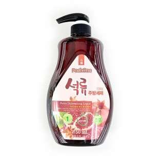 Poshone Pomergranate. Средство для мытья посуды с гранатом