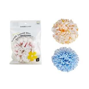Sungbo Floral Shower Ball Мочалка для тела