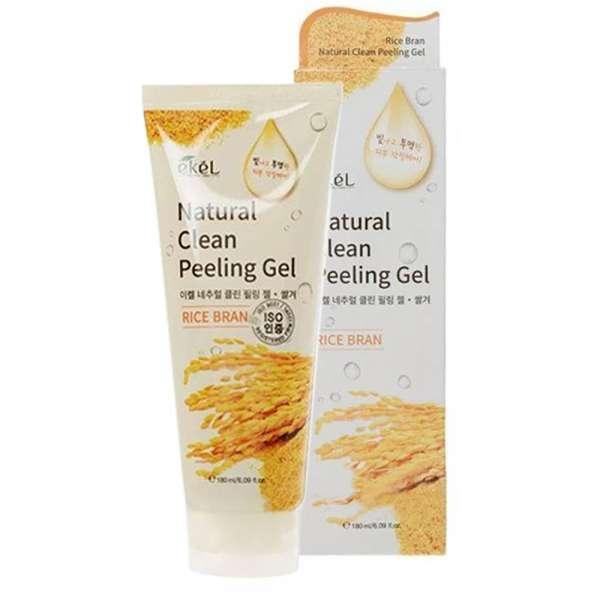 Ekel Rice Natural Clean Peeling Gel. Пилинг-скатка (рис)
