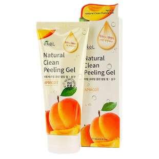 Ekel Apricot Natural Clean Peeling Gel Пилинг-скатка с экстрактом спелого абрикоса