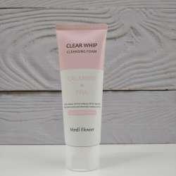 Medi Flower Calamine&PHA Clear Whip Cleansing Foam Пенка для умывания с каламидом и глюконовой кислотой