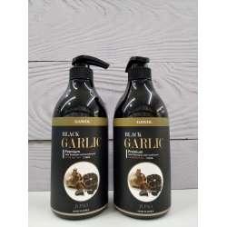 JUNO Black Garlic Shampoo&Conditioner Шампунь-кондиционер с черным чесноком
