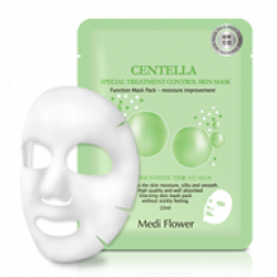Medi Flower Special Treatment Bouncy Mask pack (Centella) Тканевая маска центелла