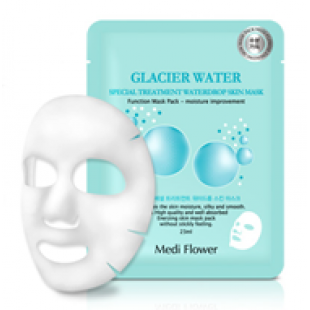 Medi Flower Special Treatment Bouncy Mask pack (Glacier Water) Тканевая маска ледниковая вода