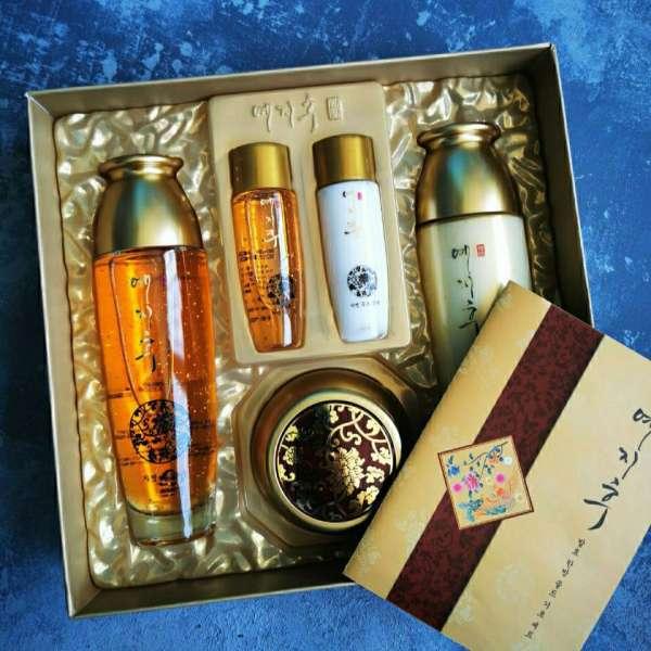YEZIHU Gold Skin Care Set Набор для лица с золотом