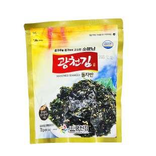 Kwangchon Seasoned Seaweed Жареные крошки морской капусты  «Дользабан ким»
