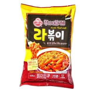 OTTOGI Noodle Tteak-bokk Рисовые палочки в остром соусе с лапшой «Рапокки»