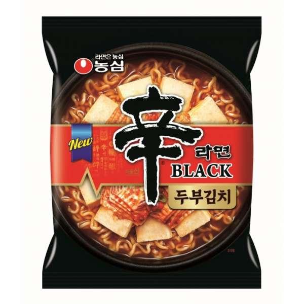 Острая лапша быстрого приготовления со вкусом тофу и кимчи