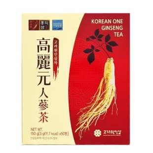 Гранулированный женьшеневый чай korean one ginseng tea