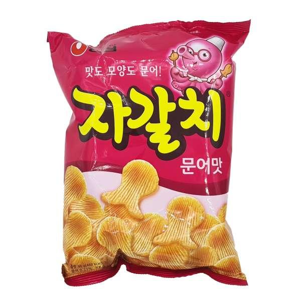 Картофельные чипсы со вкусом осьминога