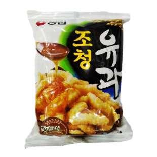 Сладкие рисовые чипсы с медом