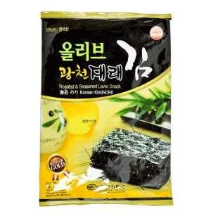 Сушеная обжаренная морская капуста для «Кимпаб ким» (нори)