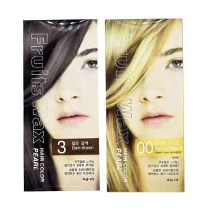 Welcos Fruits Wax Pearl Hair Color Краска для волос