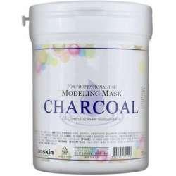 Альгинатная маска с экстрактом древесного угля Charcoal Modeling Mask / container