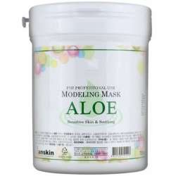 Альгинатная маска с алоэ вера ANSKIN Modeling Mask Aloe Sensitive Skin & Soothing / container
